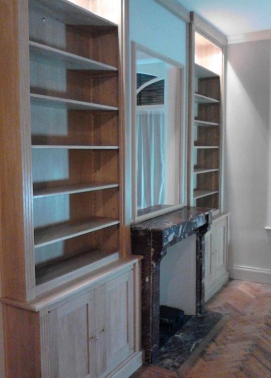 biblioth ques sur mesure les bois dormants lille nord. Black Bedroom Furniture Sets. Home Design Ideas